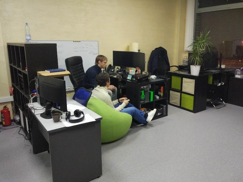 Расширение штата компании Saleads и увеличение площади офиса.